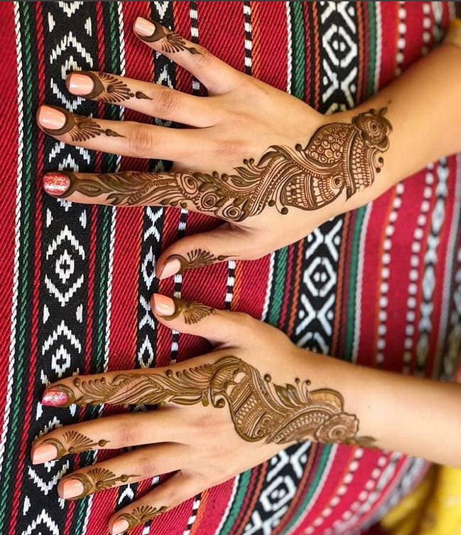 arabic mehndi design images photos