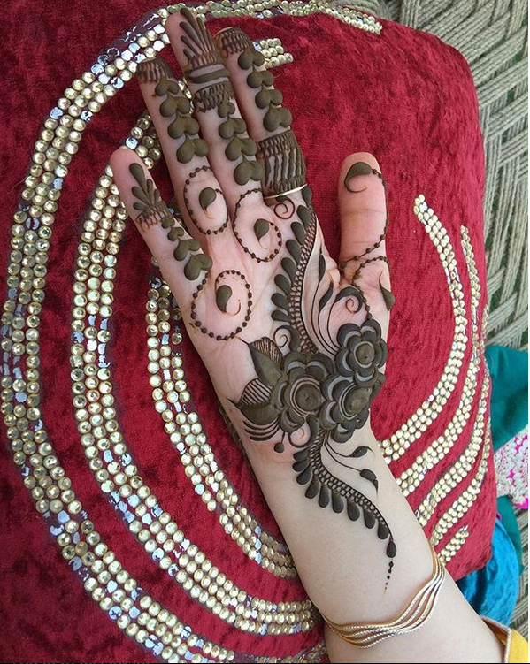 arabic mehndi designs easy