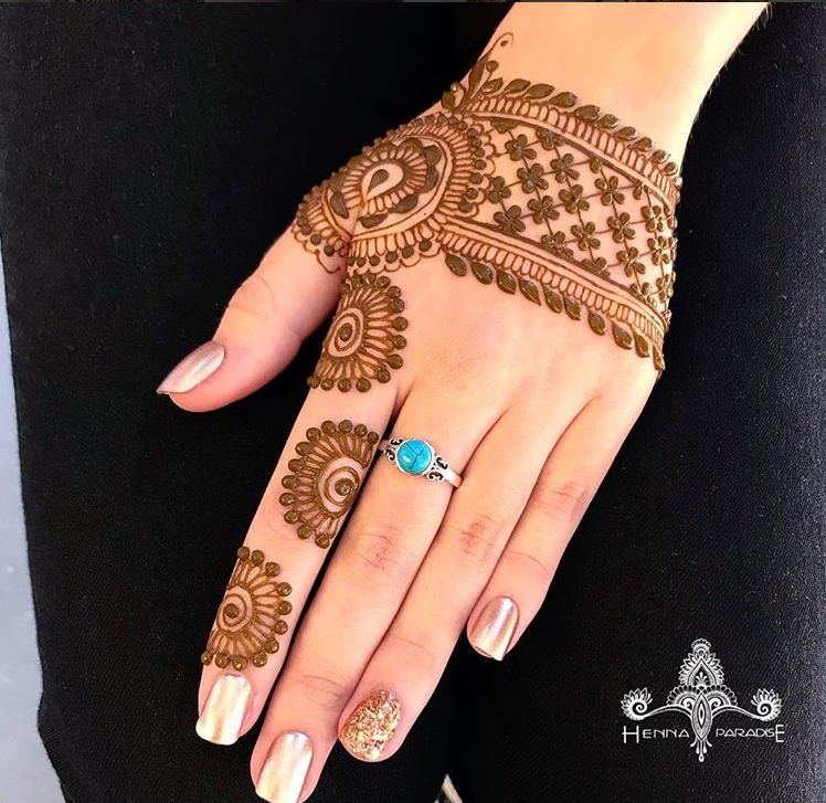 arabic mehndi designs simple