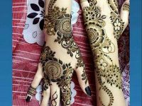 Brazilian mehndi design latest style