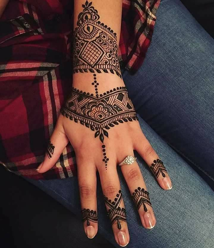 Cool henna designs for wedding
