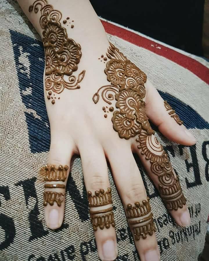 Home Design Ideas Hindi: Henna Ideas Image Latest Model