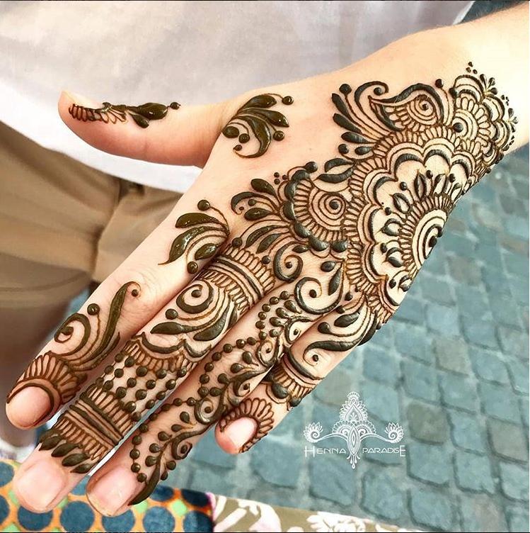 henna paradise designs