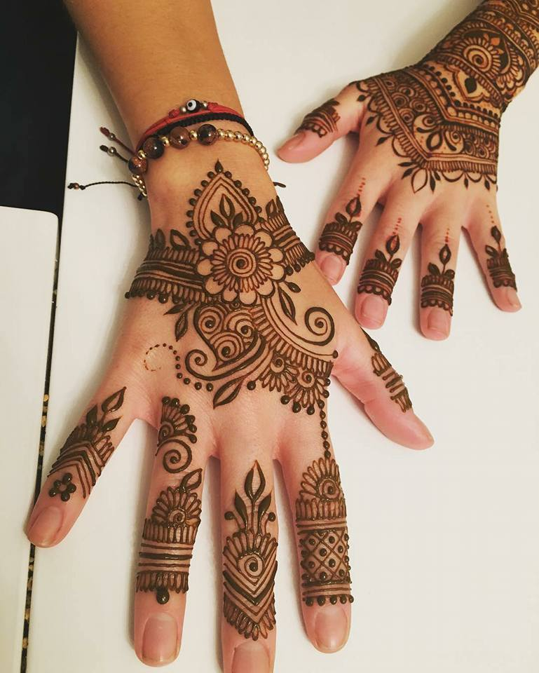 Best Mehndi Design Arabic