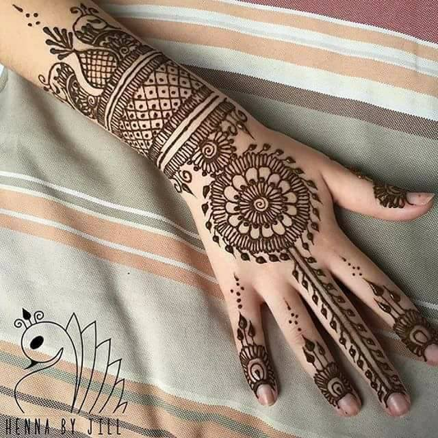 mehndi designs for wedding   hd wallpaper