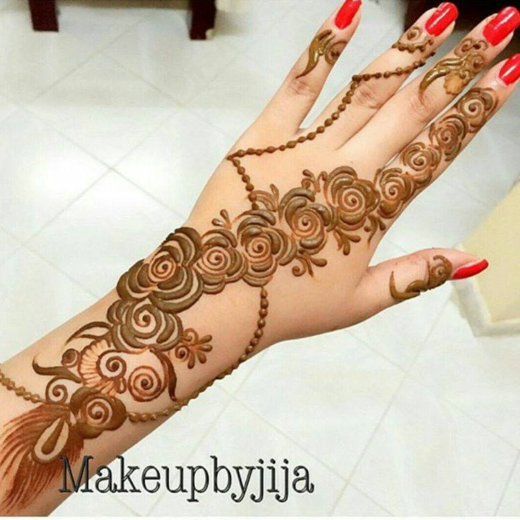 Mehndi Designs For Hands Images Pdf : Simple mehndi ke design makedes