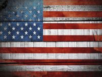 Pictures of american flags
