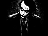 Joker Batman Black iPhone 7 Plus Wallpaper