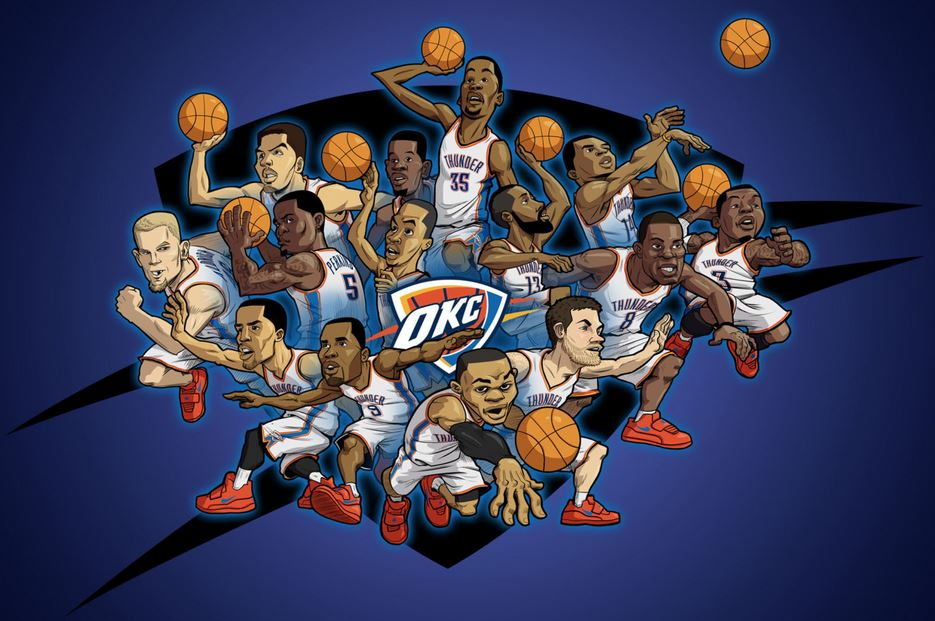 Okc Thunder Wallpaper Hd Free Download