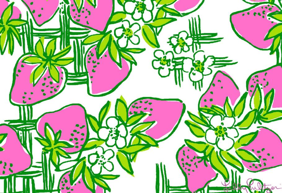 Lilly Pulitzer cremefra Wallpaper
