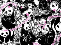 Lilly Pulitzer panda Wallpaper