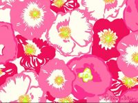 Lilly pulitzer wallpaper monogram