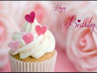 Happy Birthday cute cupcake