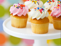 Mobile cupcake background