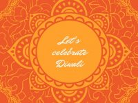 Beautiful Diwali Greeting cards Design