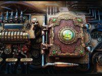 Cool steampunk wallpaper