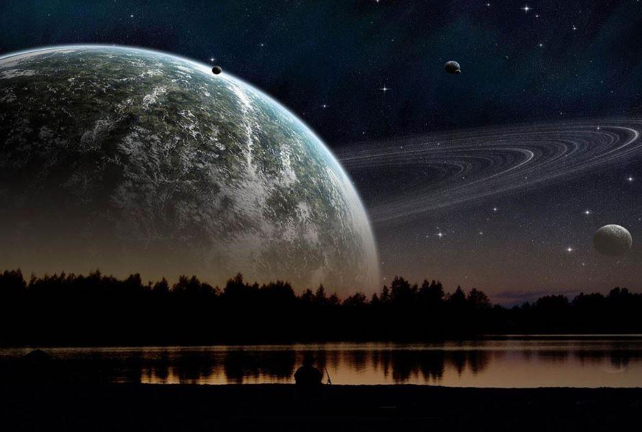 Wallpaper night sky