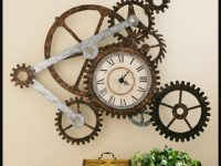 steampunk clock wallpaper