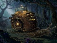 steampunk wallpaper hd