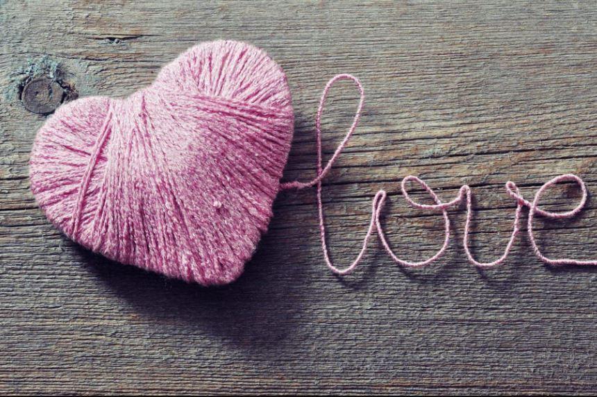 fluffy heart wallpaper