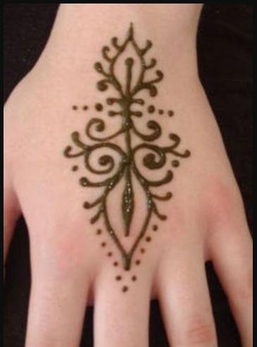 Easy Henna Tattoos Ideas Hd Wallpaper