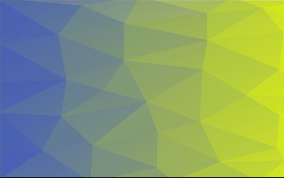 Pattern polygon blue green vector