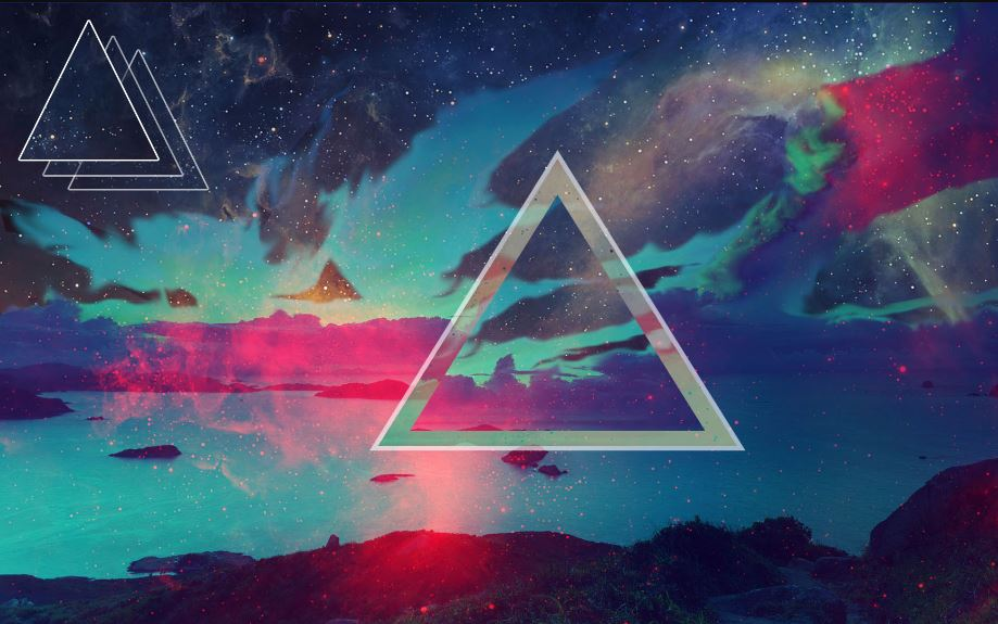 Polygon Desktop Background