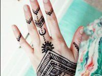 Simple Henna Tattoo Designs