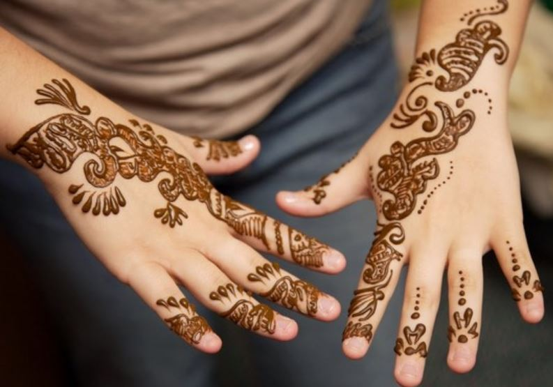 cute easy henna designs