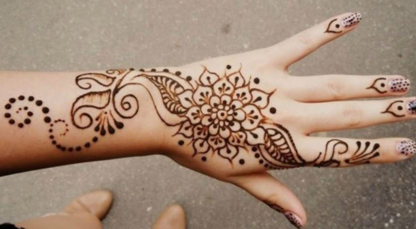 Simple Henna Designs For Hands Hd Wallpaper Mehndi Templates