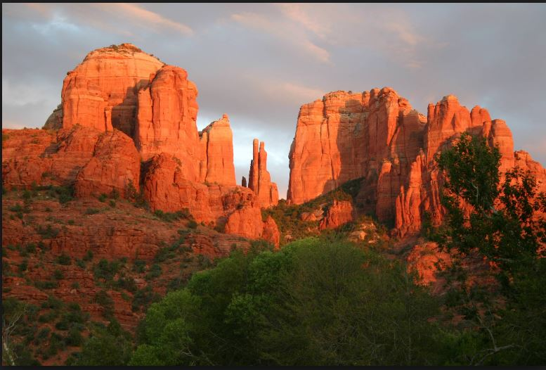 best cathedral rock wallpaper