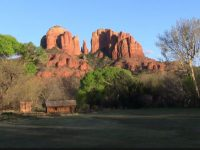 free hd cathedral rock wallpaper