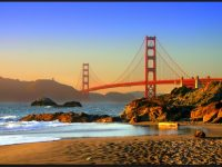 golden gate free hd wallpaper