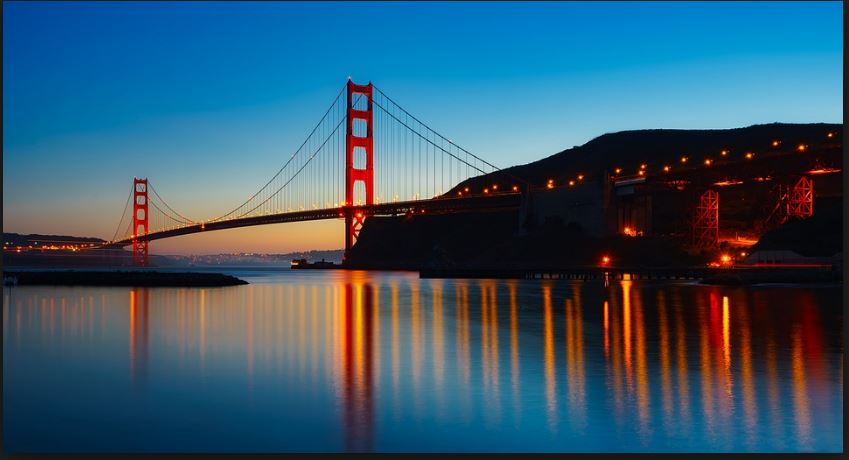 hd golden gate background