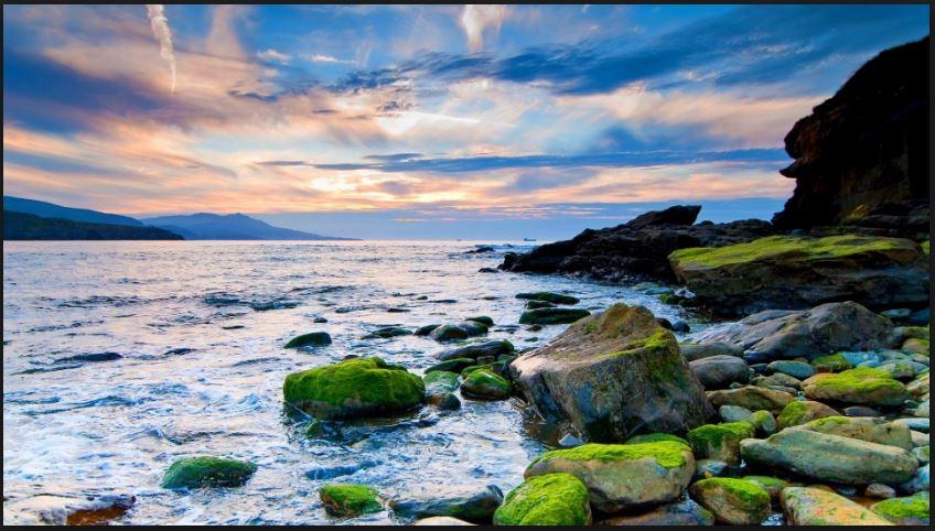 hd seashore screen saver