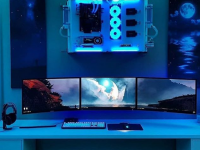 how to setup triple monitor wallpaper
