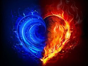 Blue And Red Fire Wallpapers For Mobile Desktop HD Download
