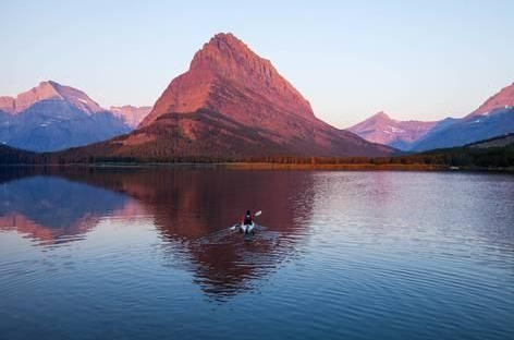 swiftcurrent lake wallpapers