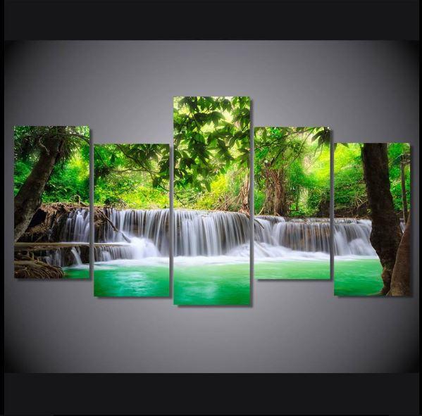 Tropical Waterfall Wallpapers Hd Hd Wallpaper