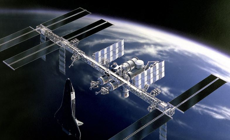 space station wallpaper hd
