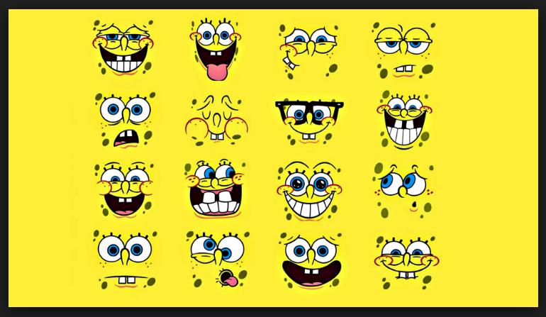 Spongebob Emoji Wallpaper