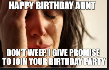birthday aunt wishes