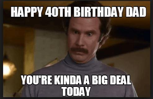 dad birthday meme from daughter