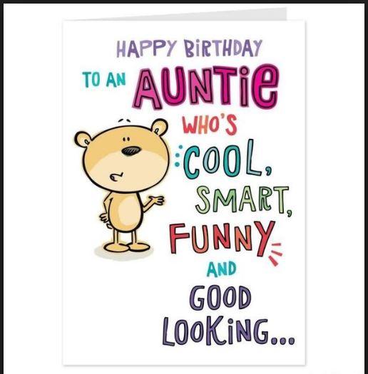 happy birthday aunt funny