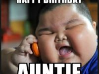 happy birthday aunties meme