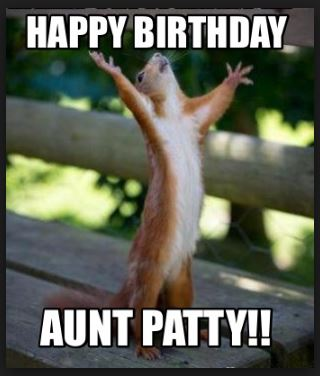 happy birthday to my favorite aunt