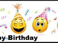 whats app happy birthday text art