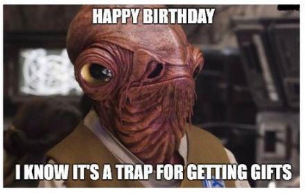 make your own star war birthday cards