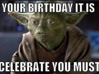 star war birthday cards