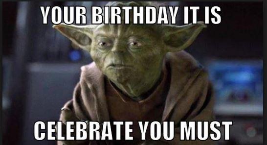 star war birthday cards